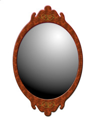 miroir vecteur