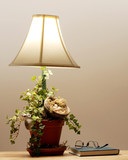 Handcrafted Country Lamp poster
