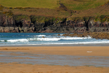 Wales - sandy, wild and empty beach