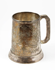 Eastern European  tankard decorated with ornament