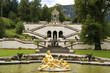 the fountain of castle Linderhof