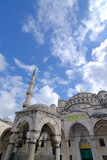 Ottoman architecture, Blue Mosque, Istanbul, Turkey poster
