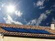 PANNEAU solaire canicule