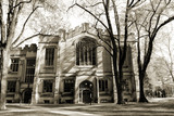 Princeton university dorm in sepia, New Jersey