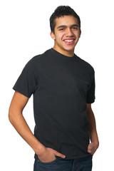 Happy Latino Teenager