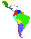 Amérique latine  poster