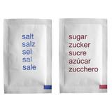 Salt and Sugar dressing - Salz und Zucker poster