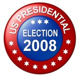 us presidential election  poster
