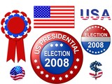 us election 2008 poster