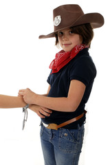 Cowgirl Sheriff on Duty