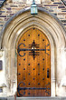 Entrance to dormitory of Princeton University, New Jersey, USA