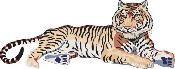 tiger vector file