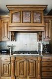Elegant Kitchen Stove poster