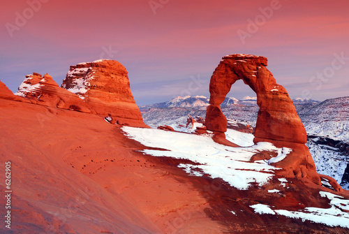 Delicate Arch at Arches National Park in Utah