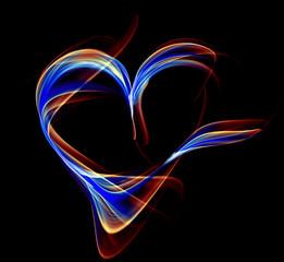 Astract heart