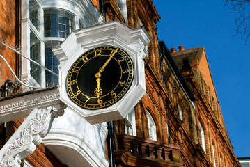 Classic Building with a Clock