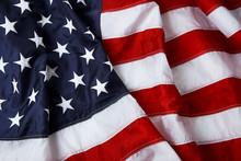 "Постер, картина, фотообои ""American flag background - shot and lit in studio"""