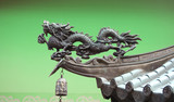 Dragon commonly used as protective guardians in asia poster