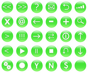 Icons for web actions in a shiny fun way.
