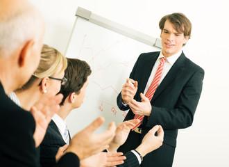 Business Präsentation: Applaus