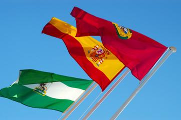 Trio de banderas