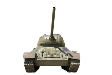 Soviet heavy tank IS battle tank from the WWII