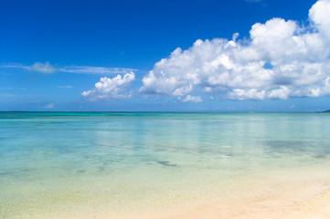 Peaceful day on a peaceful beach