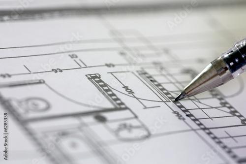 étude d'un plan de construction