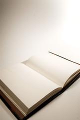 book at angle