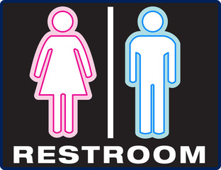 Unisex Bathroom Symbol
