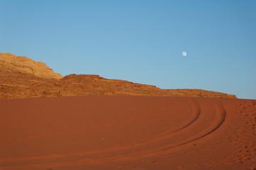 Jordan - Wadi Rum rock desert