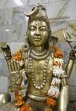 statue of lord shiva, delhi, india poster