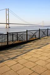 Humber Bridge, Hull, England.