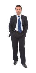 confident and handsome businessman portrait