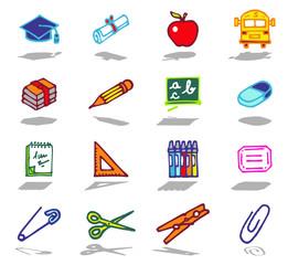 color icons - school