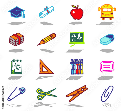 color icons - school