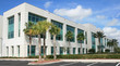 canvas print picture - Modern Commercial Building