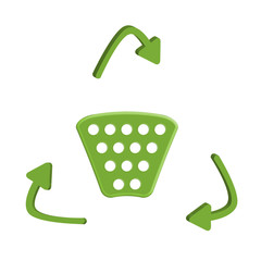 cestino riciclo