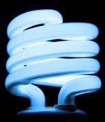 Blue Fluorescent Bulb