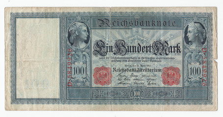 Historic german Reichsmark