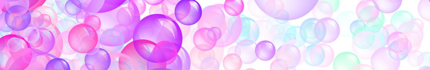 Bubbles Banner- Bolle di sapone