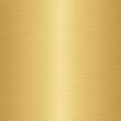 Leinwandbild Motiv enormous sheet of brushed gold metal texture