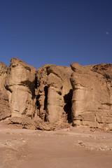 Timna park, desert, solomons pillars