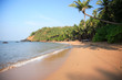 Typical beach in Goa India.