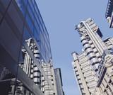 lloyds of london insurance company building london  poster