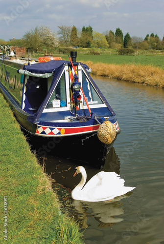 poster of The stratford upon avon canal warwickshire midlands