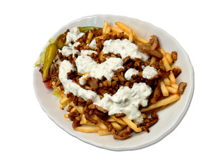 Gyros and Fries