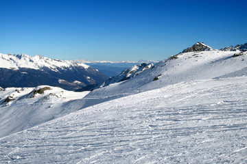 The mountains in Tonale - Italy