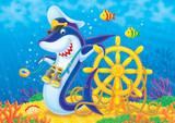 Captain Shark poster