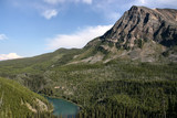 Kootenay National Park - Vista Lake. Summer landscape. poster